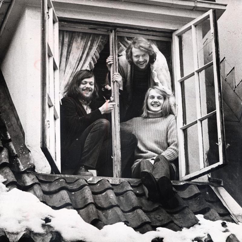 Tre låtskrivere som har satt spor etter seg, Lillebjørn Nilsen, Øystein Sunde og Finn Kalvik. (Foto: Dagbladet)