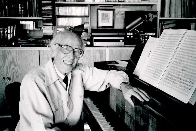 Knut Nystedt er nytt æresmedlem i Norsk Komponistforening.