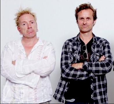 """Sex Pistols-sanger Johnny Rotten spilte i Liens film """"Sønner av Norge"""". (foto: privat)"""