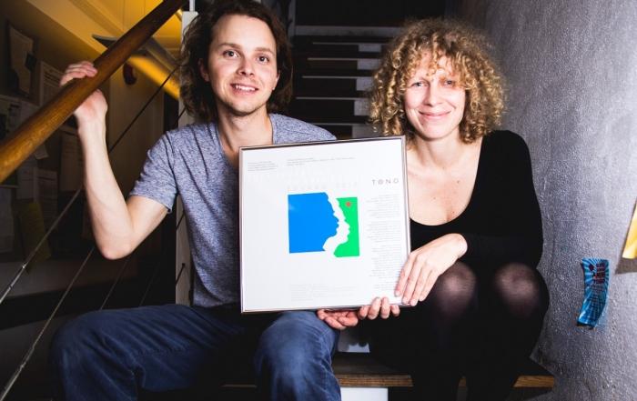 EDVARD-prisen til Tuva Syvertsen og Erik Sollid (Valkyrien Allstars)