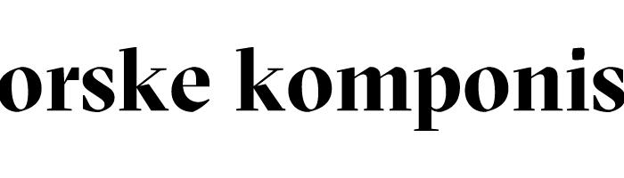 Søk støtte fra Det norske komponistfond
