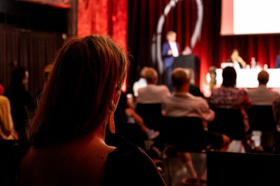 Foto av årsmøte