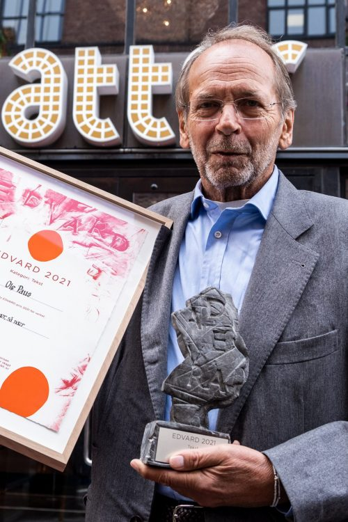 Ole Paus mottar EDVARD-prisen 2021